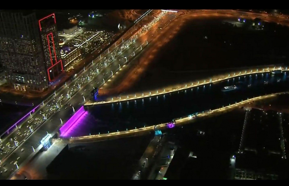 فيديو إفتتاح قناة دبي المائية