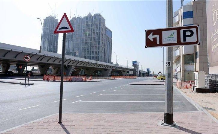 """""""الطرق والمواصلات"""" توفر 1602 موقف حول ضفاف قناة دبي المائية للجذب السياحي"""