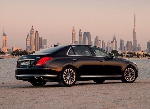 """بالصور : إطلاق سيارة """"جينيسيس G90"""" في الإمارات"""