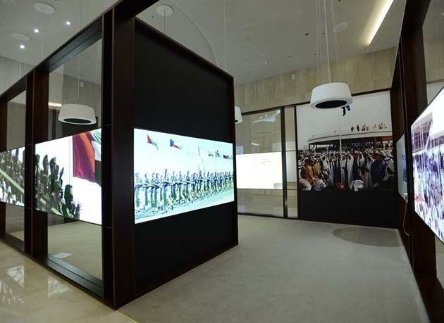 """بالصور : """"متحف الاتحاد"""" تحفة معمارية جديدة تضاف إلى رصيد دبي"""