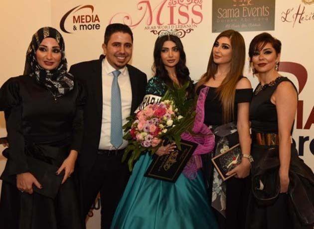 """بالصور : تتويج """"سارة الحاج"""" ملكة جمال العرب 2016"""