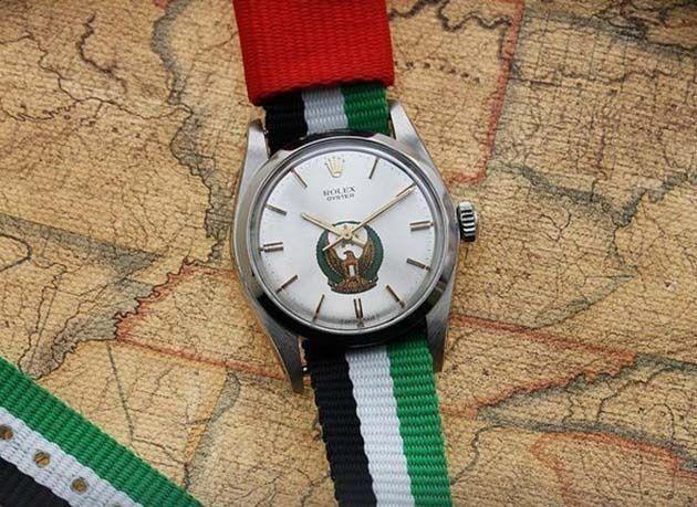 بالصور : ساعات رولكس فاخرة مستوحاة من ثقافة الإمارات