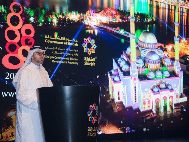 سياحة الشارقة تعلن عن تنظيم الدورة السابعة لمهرجان أضواء الشارقة 2017