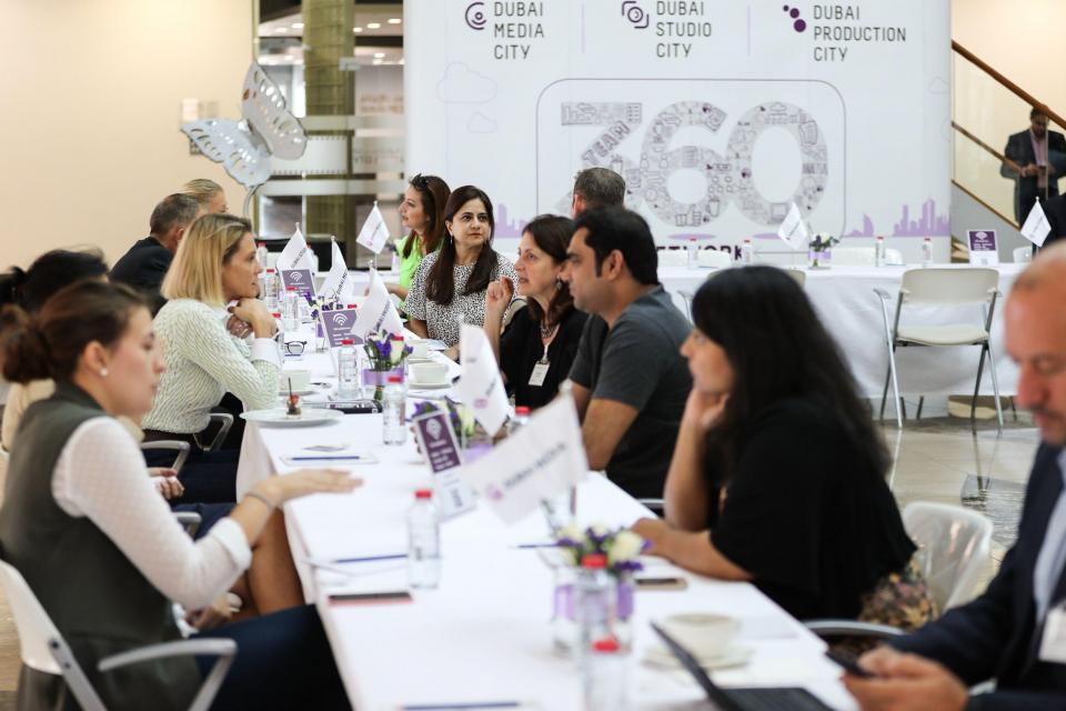 """مدينة دبي للإعلام تطلق سلسة جلسات """"360 للتواصل"""""""