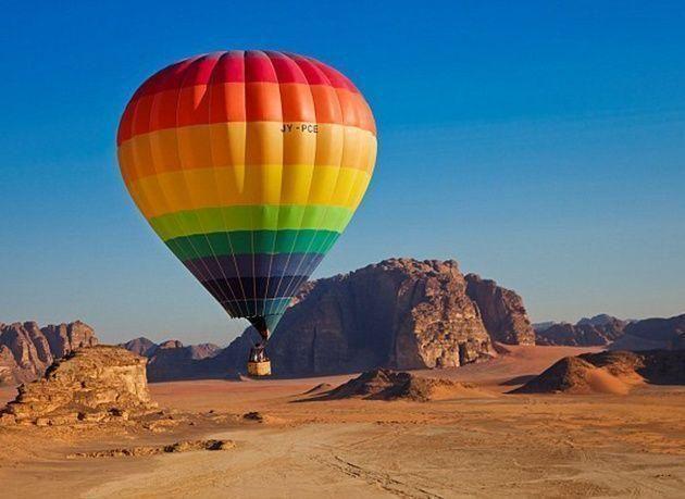 بالصور: أعظم العجائب الطبيعية في الأردن