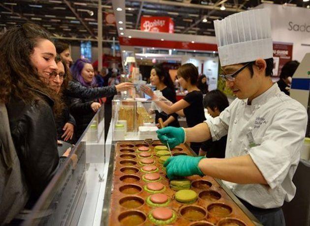 بالصور : انطلاق معرض الشوكولاته في باريس 2016
