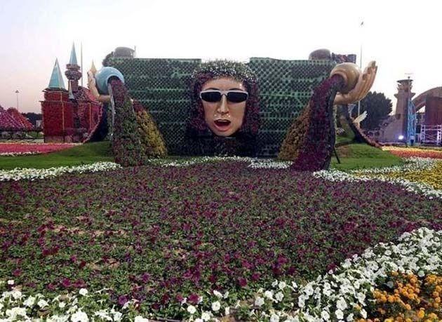 بالصور : شاهد الإضافات الجديدة في حديقة دبي المعجزة