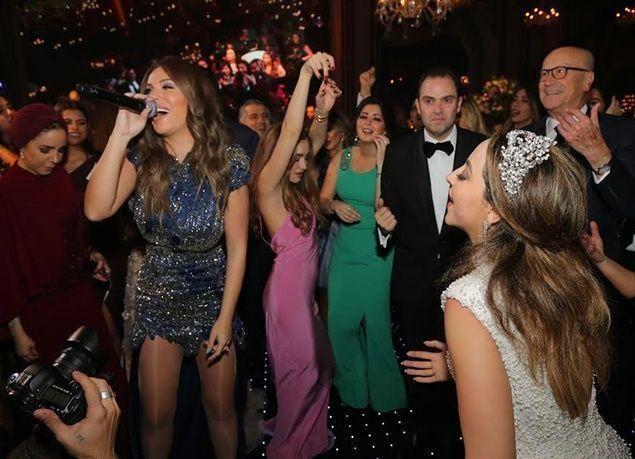 بالصور : نجوم العالم العربي يحتفلون بزفاف كريمة المنتج صادق الصبّاح