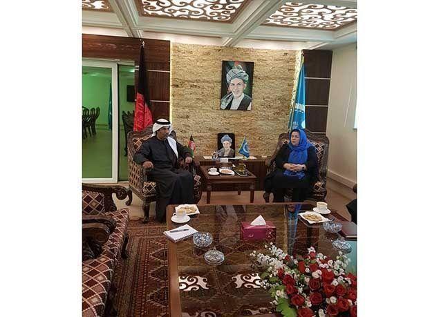 """بالصور : آخر ظهور لسفير الإمارات """"جمعة الكعبي"""" قبيل تفجير قندهار"""