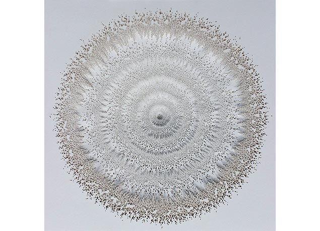 بالصور : فنان يجسد روعة الكائنات الحية الدقيقة بالورق