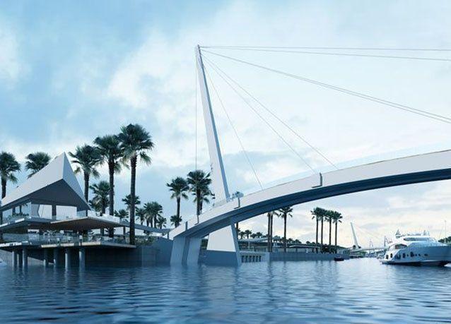 """بالصور: إطلاق مشروع """"القناة"""" في أبوظبي بتكلفة 850 مليون درهم"""