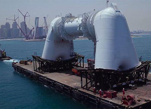 """بالصور : آخر تحديثات مشروع """"عين دبي"""" .. أكبر وأطول عجلة ترفيهية في العالم"""
