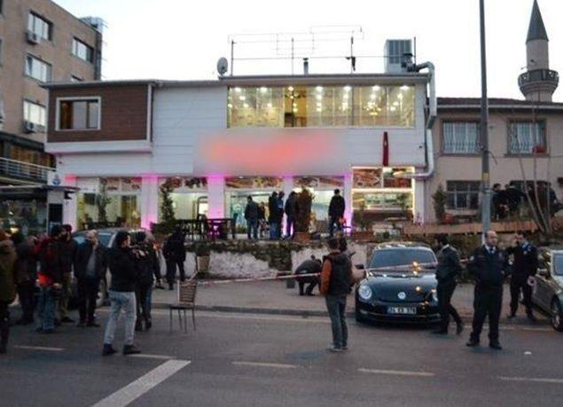 بالصور : جرحى في إطلاق نار داخل مطعم بمنطقة الفاتح بإسطنبول