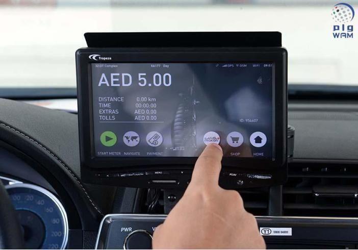 """طرق دبي تنجز ربط 4500 مركبة أجرة بنظام """"مكاني"""""""