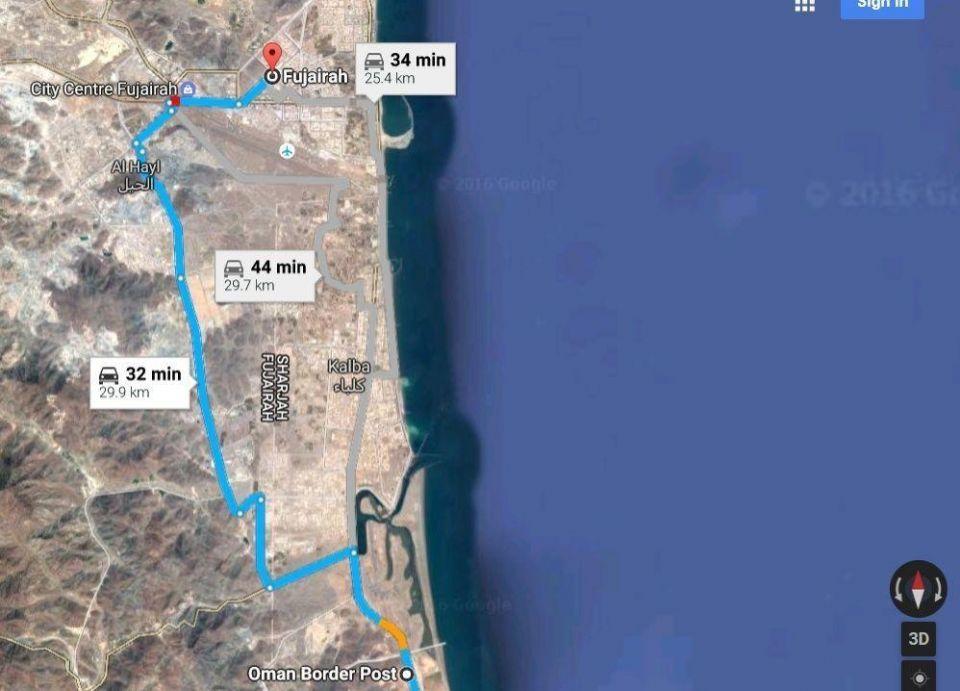 طريق جديد بين الإمارات وسلطنة عُمان العام القادم
