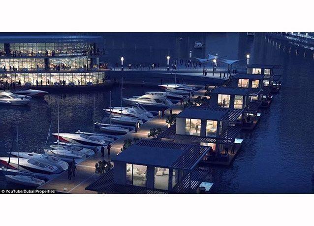 بالصور : شاهد تصميمات مستقبل خور دبي