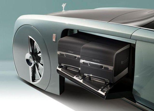 """بالصور : """"رولز رويس"""" تكشف عن رؤية جديدة لسيارتها الفاخرة Vision 100"""