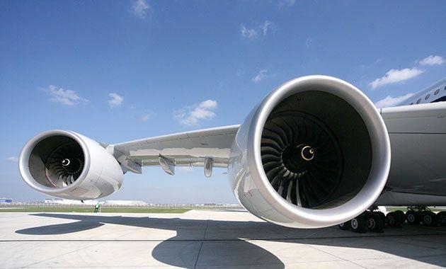 طيران الامارات: محركات رولز رويس لطائرات A380 دون المستوى