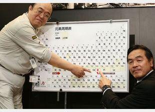 نيهونيوم، أول عنصر ذري جديد يكتشف في آسيا يشتق اسمه من اليابان