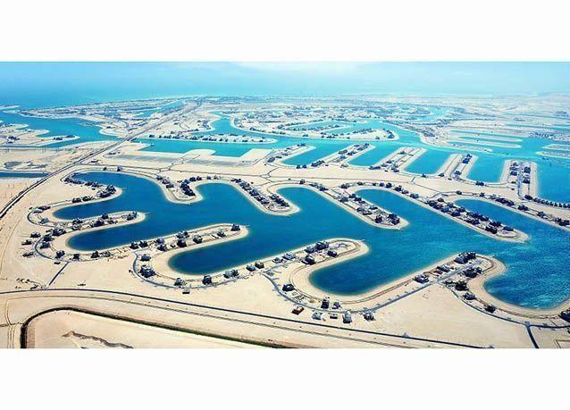 بالصور : مدينة صباح الأحمد البحرية .. معجزة بصحراء الكويت