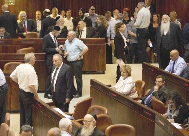 تعرض كل الإناث تقريبا في الكنيست الإسرائيلي للتحرش الجنسي