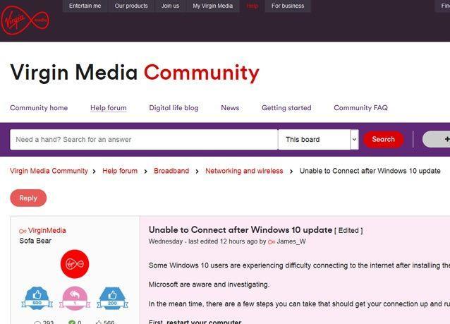 تحذير من قطع الإنترنت لدى المستخدمين بسبب تحديث جديد لنظام ويندوز