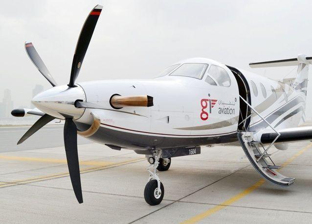 طائرات جي آي تحلق في دولة الإمارات