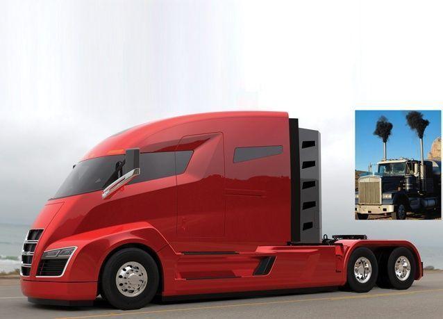 أول شاحنة بدون انبعاثات ملوثة تجذب 7000 مشتري