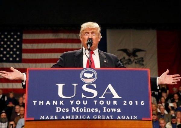 ترامب أنفق 66 مليون دولار من ماله الخاص على حملته الانتخابية