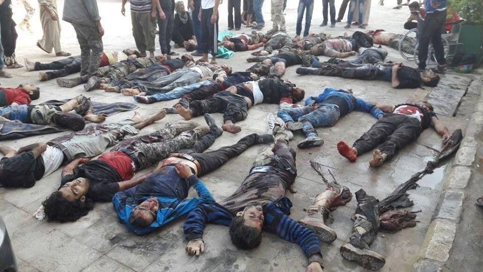 مقتل 25 من مقاتلي المعارضة في انفجار قنبلة زرعها تنظيم داعش بشمال سوريا