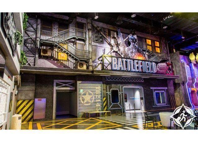 """بالصور : افتتاح """"هب زيرو"""" أول مجمع ترفيهي يضم أحدث ألعاب الفيديو في دبي"""