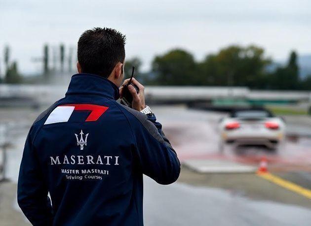 بالصور : مازيراتي تقدم تجربة قيادة للسيارات الإيطالية مع برنامج في دروس القيادة المحترفة