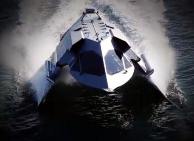 """بالصور : شاهد """"قارب الشبح"""" الذي تمنع الولايات المتحدة بيعه"""