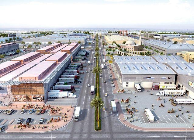 دبي لتجارة الجملة : ربط القارات