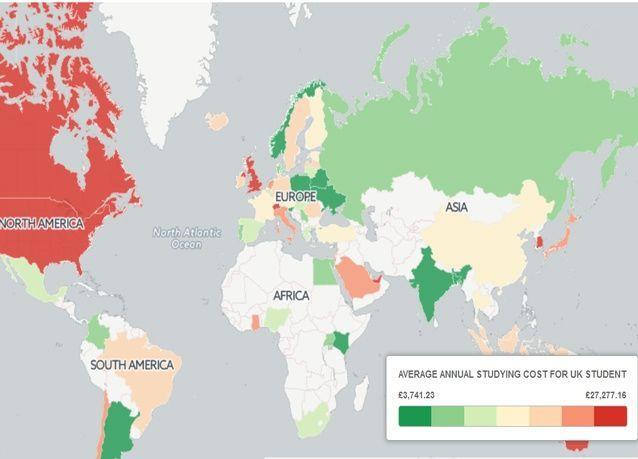 للطلاب، أهم الجامعات المجانية أو الرخيصة حول العالم