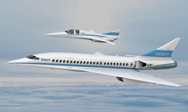 الكشف عن بووم، طائرة ريتشارد برونسون فائقة السرعة