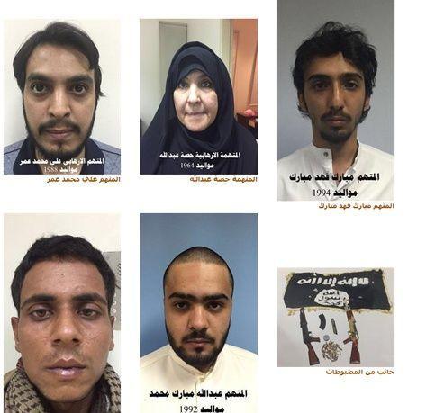 القبض على شباب يافعين وامرأة في الكويت ينتمون لداعش