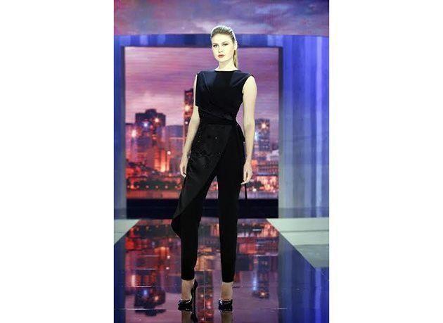 """بالصور : إليسا تُضفي رونقاً وأناقة وإحساساً خاصاً على الحلقة الثامنة من برنامج """"Project Runway ME"""""""