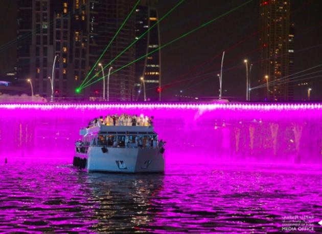 بالصور : محمد بن راشد يفتتح قناة دبي المائية بتكلفة إجمالية 3.7 مليارات درهم وطول 12 كيلومتراً