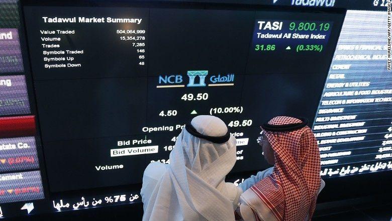 أسهم الفئة الثانية تصعد بسوق السعودية والأجانب يدعمون بورصة مصر
