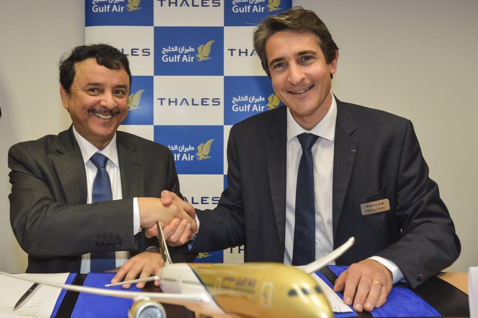 """طيران الخليج تختار """"تاليس أفانت"""" لأنظمة الترفيه الجوي لبرنامج تحديث أسطولها"""