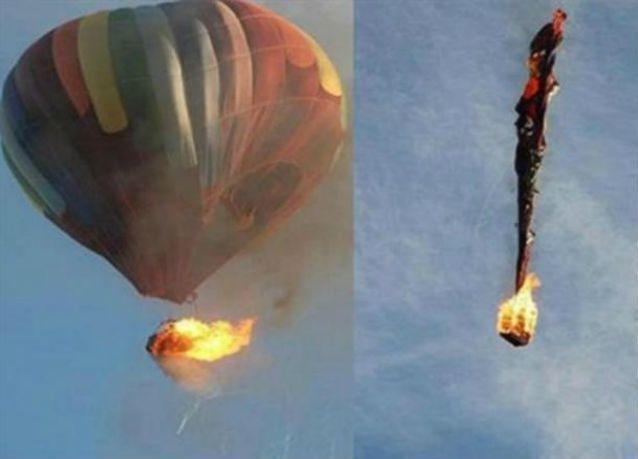 مصير مجهول لـ 16 شخصاً في تحطم منطاد هوائي بولاية تكساس الأميركية