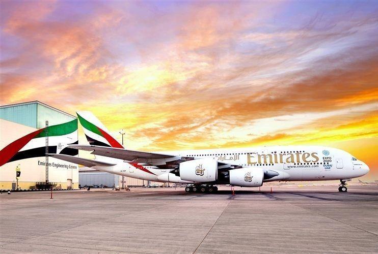 طيران الإمارات تشغل الإيرباص A380 إلى الريفيرا الفرنسية
