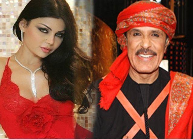 """عبدالله بالخير يطلب للمرة الثانية يد هيفاء وهبي """"الأجمل والأظرف والألطف بين النساء"""""""