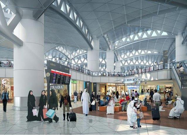 السعودية: بدء التشغيل الجزئي للصالة 5 بمطار الملك خالد الدولي بالرياض
