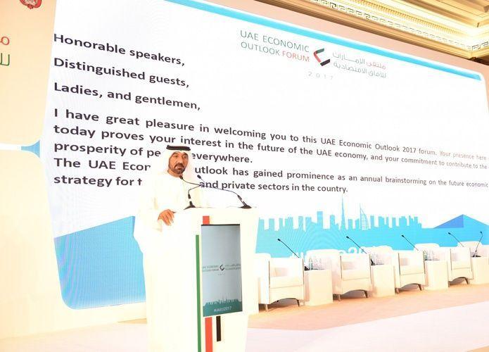 أحمد بن سعيد: حقق اقتصاد دبي نمو فعلي 2.7% في 2016 ونتوقع أن يرتفع لـ3.1% في 2017