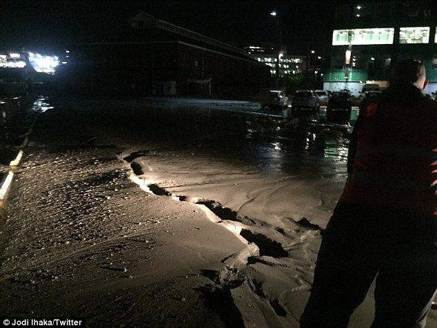 موجة تسونامي تضرب نيوزيلندا بعد هزات أرضية قوية