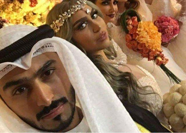 فيديو: حقيقة زواج شاب كويتي من 4 حسناوات في ليلة واحدة !