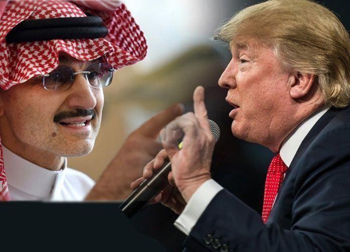 الوليد بن طلال يقلب صفحة الماضي مع دونالد ترامب