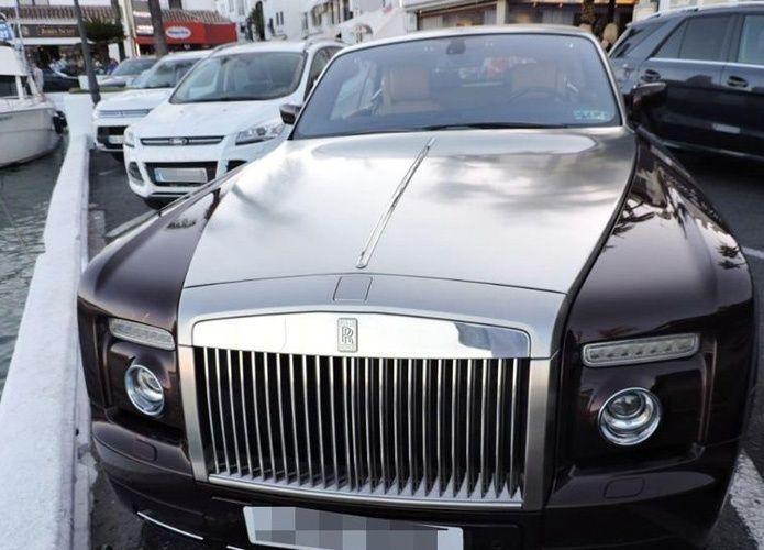 بريطاني يسرق سيارة شيخ سعودي فاخرة بلندن